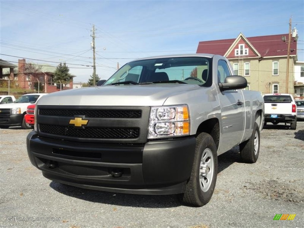 2012 chevrolet silverado 1500 work truck regular cab pickup 43l. Black Bedroom Furniture Sets. Home Design Ideas