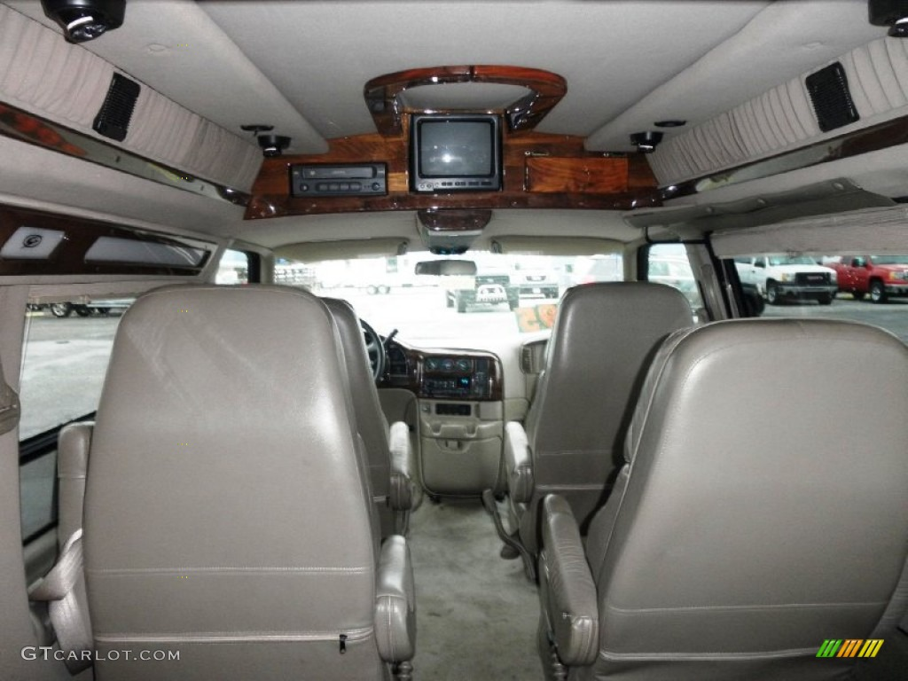 2000 Storm Gray Metallic Gmc Safari Awd Conversion Van