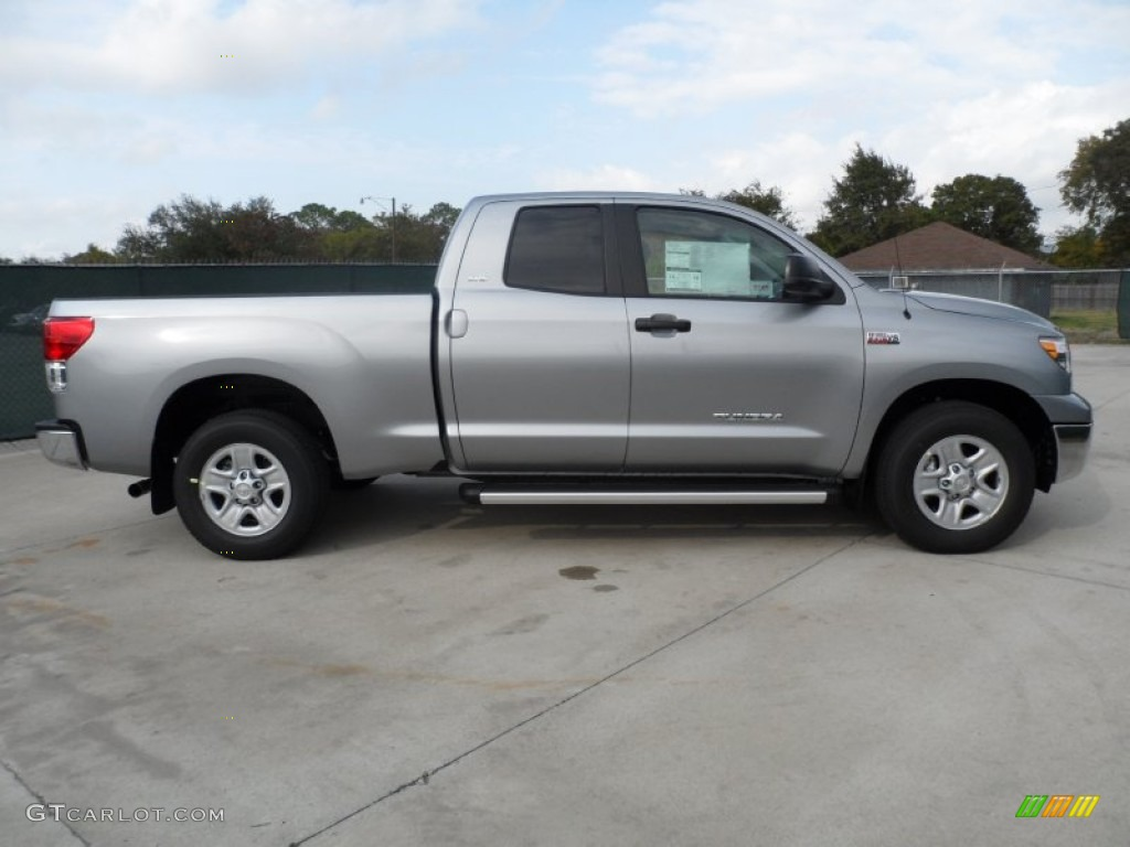 silver sky metallic 2012 toyota tundra sr5 double cab exterior photo 56521021. Black Bedroom Furniture Sets. Home Design Ideas