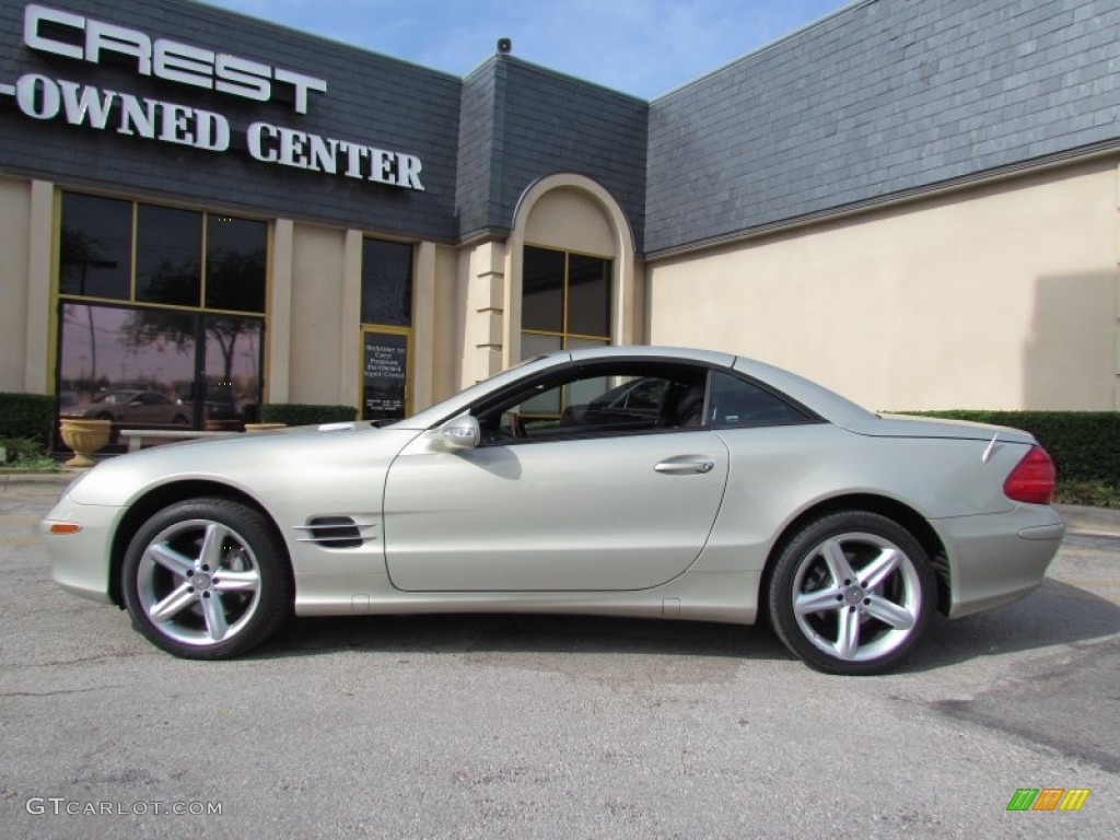 2003 designo silver metallic mercedes benz sl 500 designo for Mercedes benz sl 500 2003