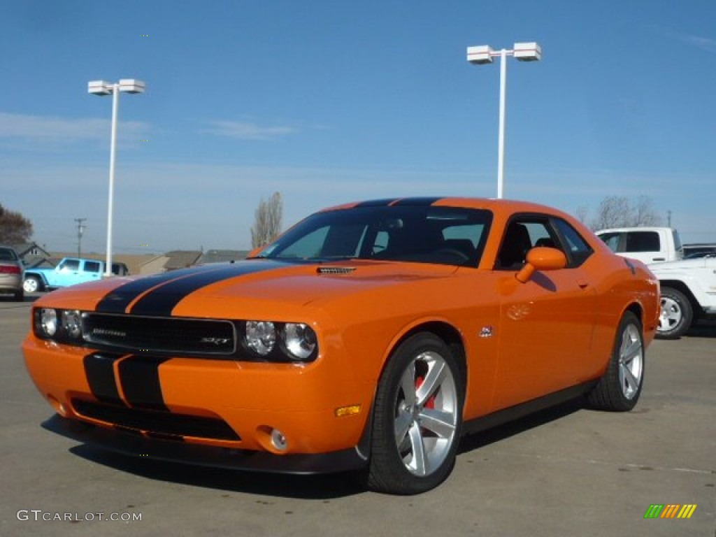 Header Orange 2012 Dodge Challenger SRT8 392 Exterior Photo #56536501 ...