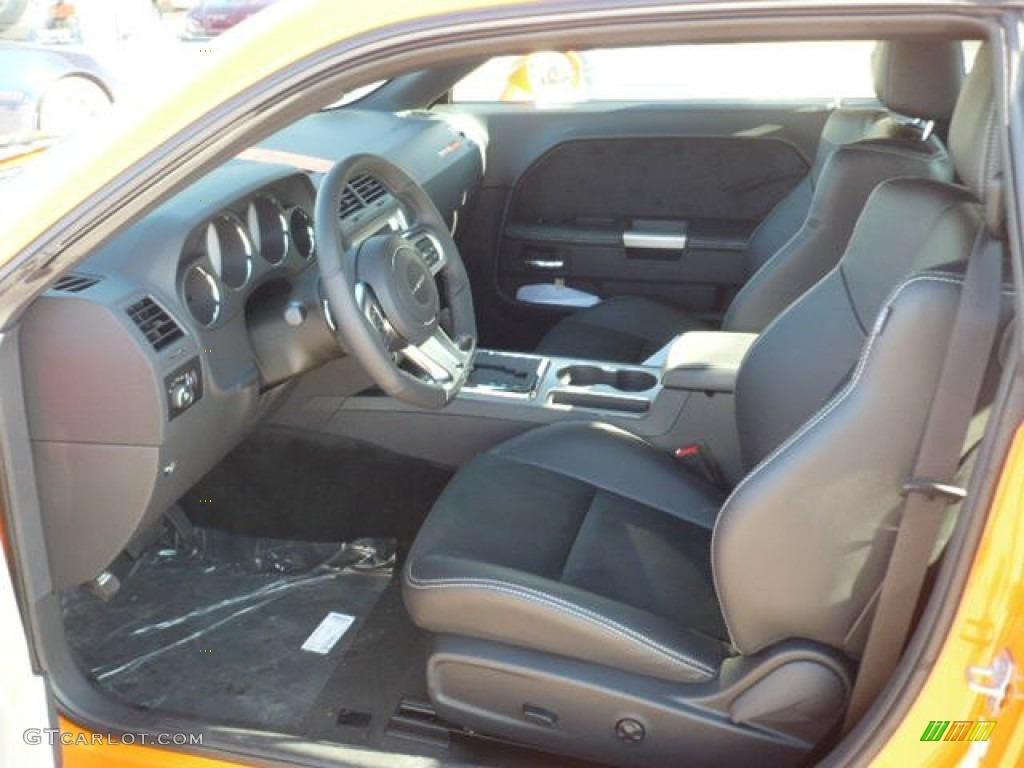 Dark Slate Gray Interior 2012 Dodge Challenger SRT8 392 ...