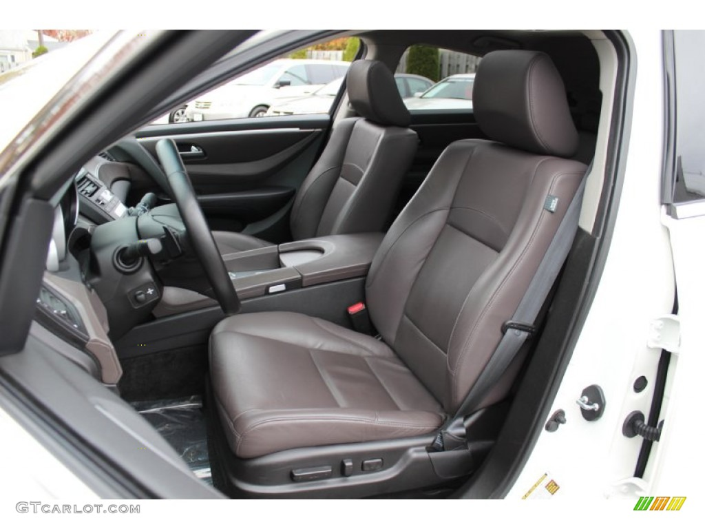 Sumatra Interior 2010 Acura ZDX AWD Technology Photo #56544556