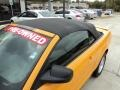2007 Grabber Orange Ford Mustang V6 Deluxe Convertible  photo #13
