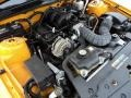 2007 Grabber Orange Ford Mustang V6 Deluxe Convertible  photo #22