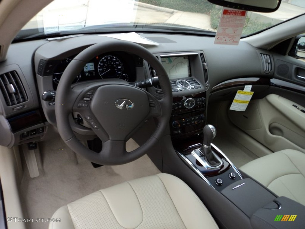 wheat interior 2012 infiniti g 37 journey sedan photo 56550610. Black Bedroom Furniture Sets. Home Design Ideas