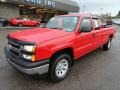Victory Red - Silverado 1500 Work Truck Extended Cab 4x4 Photo No. 8
