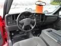 Dashboard of 2006 Silverado 1500 Work Truck Extended Cab 4x4