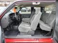 2006 Silverado 1500 Work Truck Extended Cab 4x4 Dark Charcoal Interior