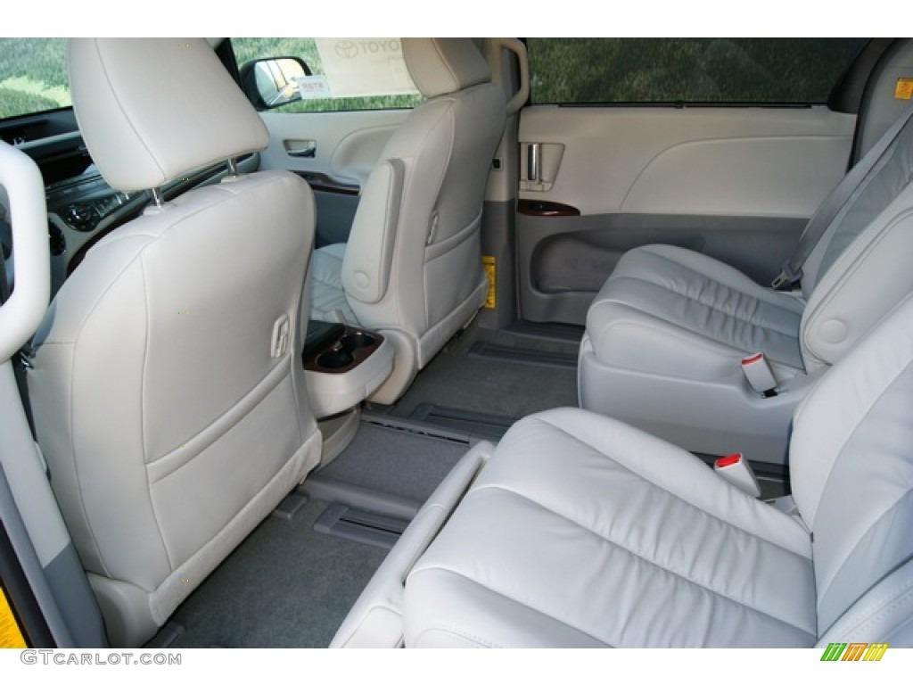 Light gray interior 2012 toyota sienna xle awd photo 56555353 gtcarlot com