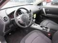 Black 2012 Nissan Rogue Interiors
