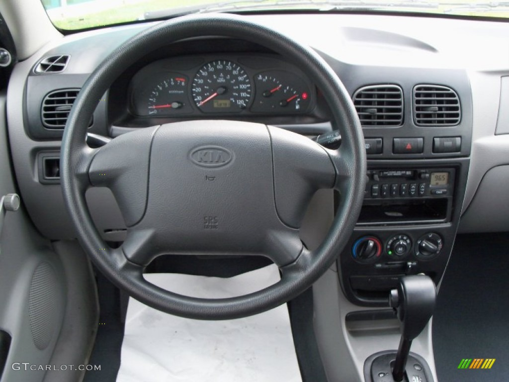 service manual remove the dash in a 2002 kia rio. Black Bedroom Furniture Sets. Home Design Ideas