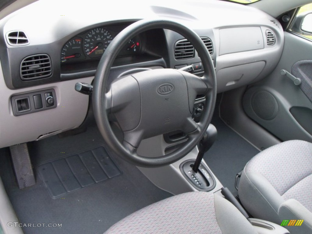 service manual how does cars work 2005 kia rio interior. Black Bedroom Furniture Sets. Home Design Ideas