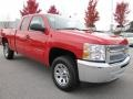 2012 Victory Red Chevrolet Silverado 1500 LS Extended Cab  photo #1