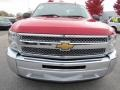 2012 Victory Red Chevrolet Silverado 1500 LS Extended Cab  photo #2