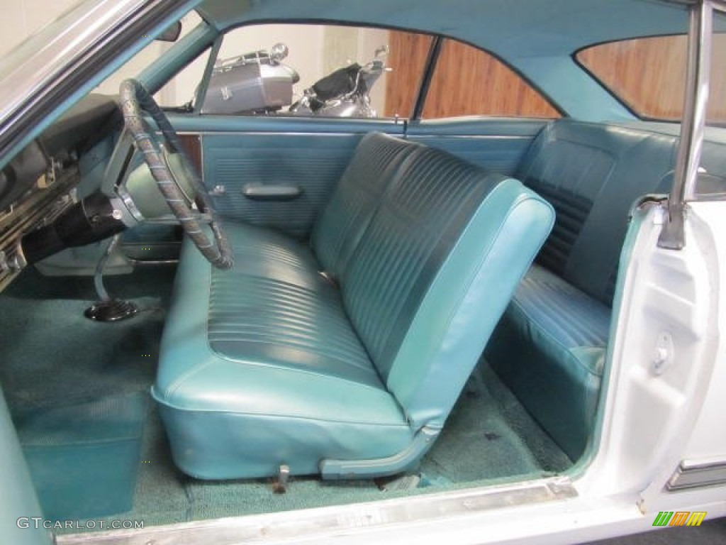 1966 Ford Fairlane 500 Hardtop Coupe Interior Color Photos