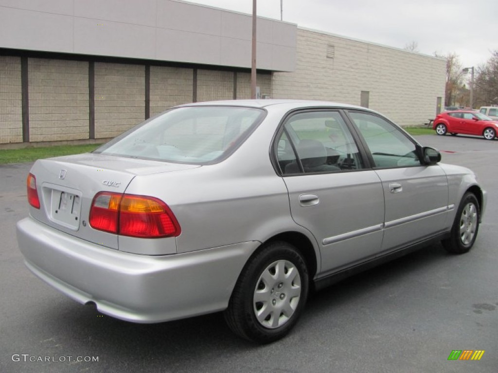 Vogue Silver Metallic 1999 Honda Civic Vp Sedan Exterior Photo 56566740 Gtcarlot Com