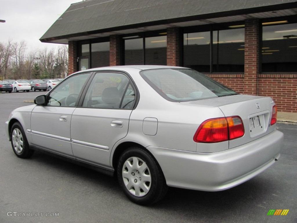 vogue silver metallic 1999 honda civic vp sedan exterior photo 56566827 gtcarlot