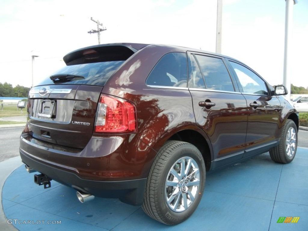 Cinnamon Metallic 2012 Ford Edge Limited Exterior Photo 56579127