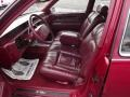 1992 Cadillac DeVille Red Interior Interior Photo