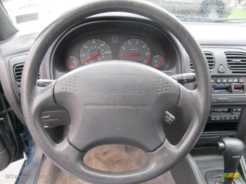 1999 subaru legacy l wagon gray steering wheel photo 56581719 gtcarlot com