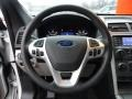 Medium Light Stone Steering Wheel Photo for 2011 Ford Explorer #56586912