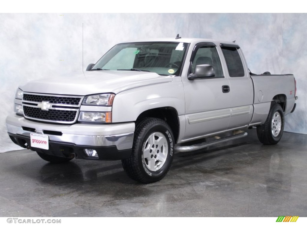 Chevy Truck Silver Excellent Lifted Silverado 1954 Crew Cab Image With