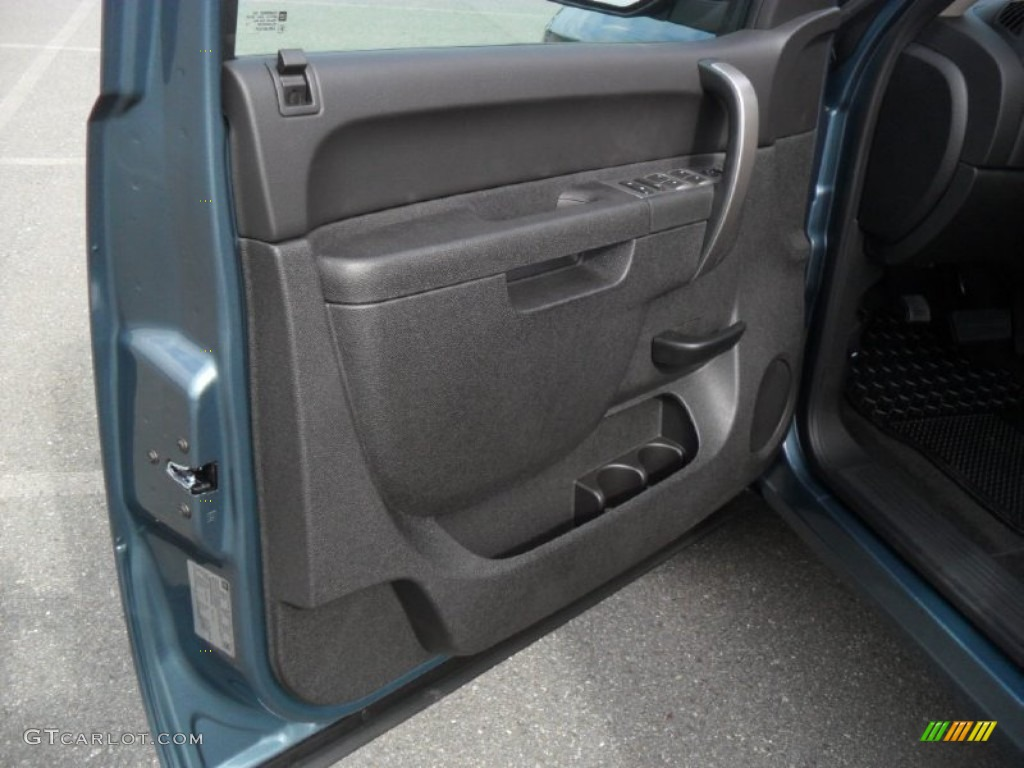2012 Silverado 1500 LT Crew Cab - Blue Granite Metallic / Ebony photo #9