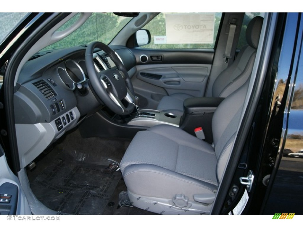 2012 toyota tacoma v6 trd sport double cab 4x4 interior. Black Bedroom Furniture Sets. Home Design Ideas