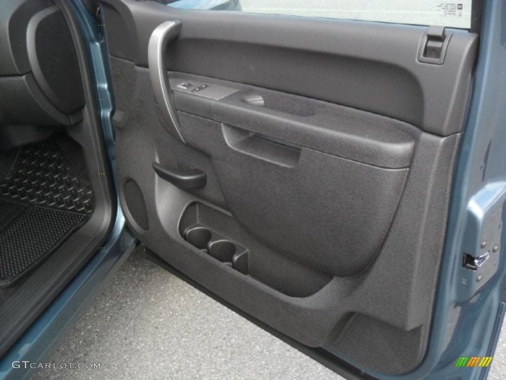 2012 Silverado 1500 LT Crew Cab - Blue Granite Metallic / Ebony photo #20