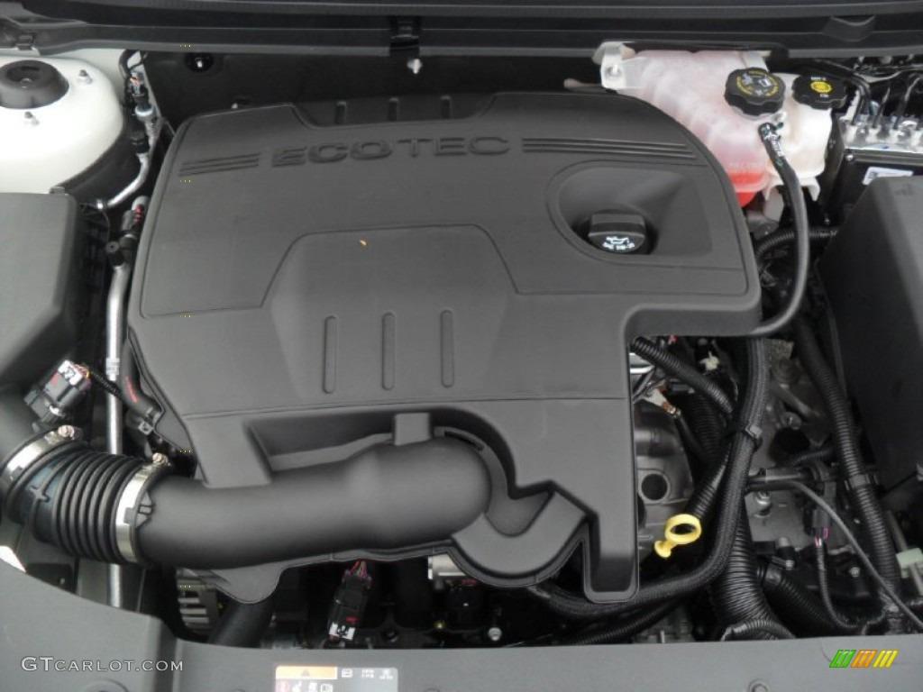 2012 Chevrolet Malibu LT 2.4 Liter DOHC 16-Valve VVT ...