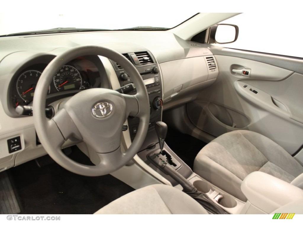 Ash Interior 2009 Toyota Corolla Le Photo 56600217
