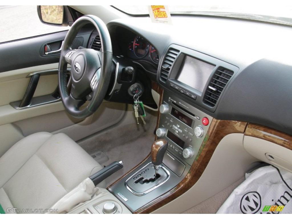 Warm Ivory Interior 2008 Subaru Legacy 30R Limited Photo