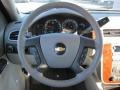 2011 Chevrolet Silverado 1500 Light Titanium/Dark Titanium Interior Steering Wheel Photo
