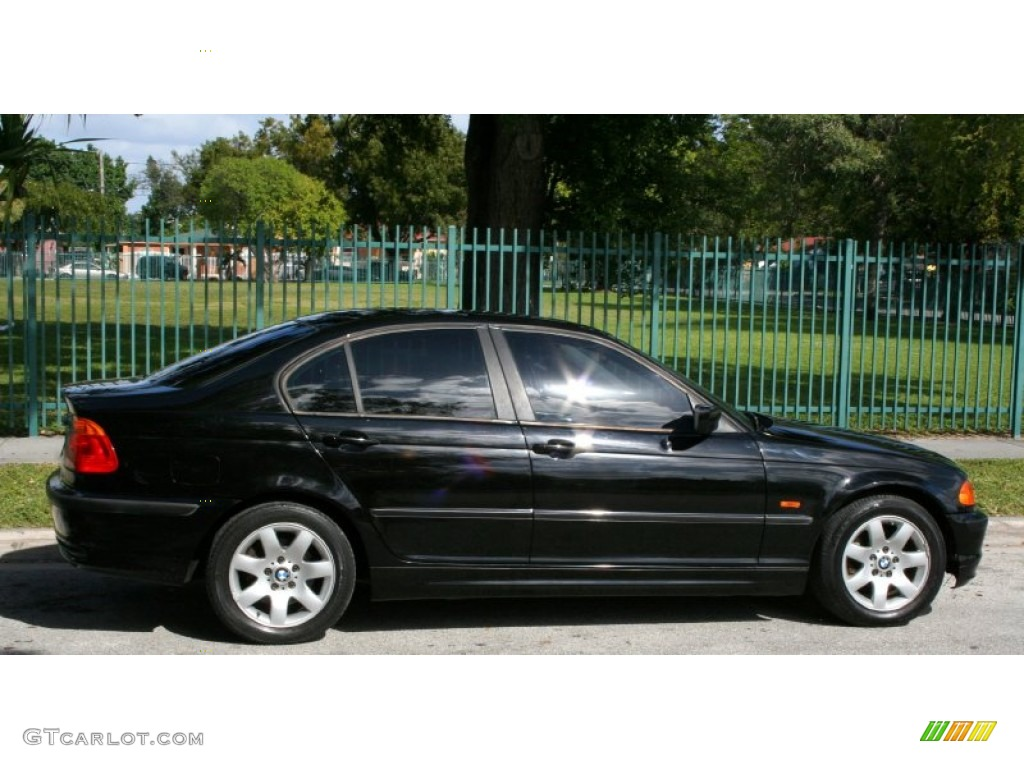 Jet black 2001 bmw 3 series 325i sedan exterior photo 56607573