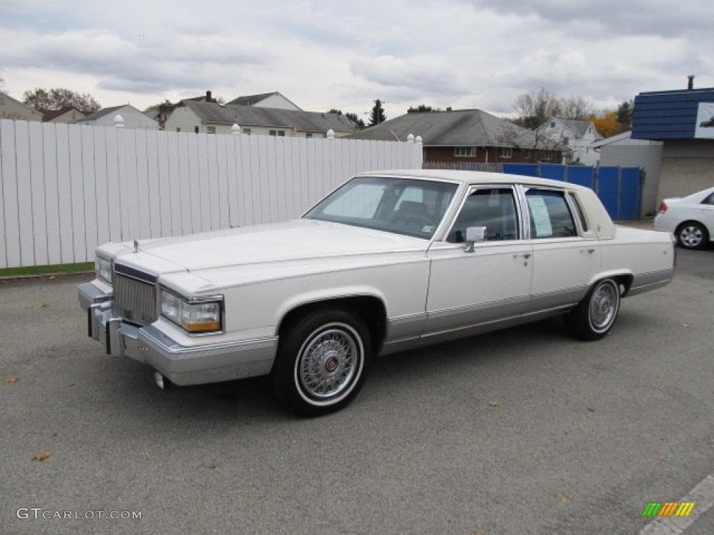 1992 White Cadillac Brougham Sedan #56610854