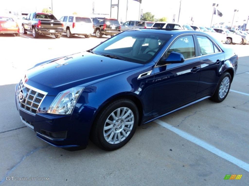 2012 Opulent Blue Metallic Cadillac Cts 3 0 Sedan
