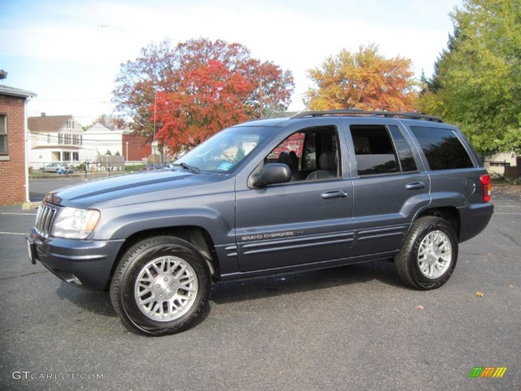 2003 steel blue pearlcoat jeep grand cherokee limited 4x4 56610378 gtcarlot com car color galleries gtcarlot com