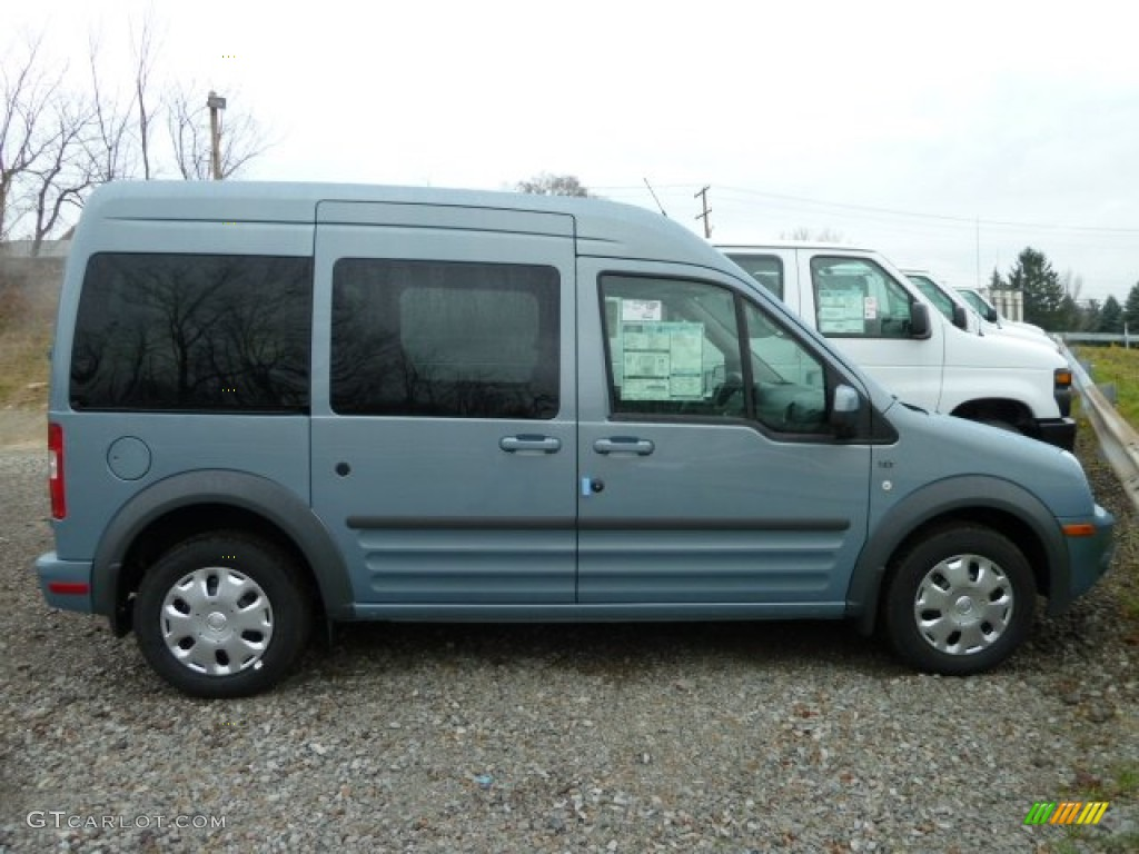 Winter Blue Metallic 2012 Ford Transit Connect XLT Premium Wagon ...