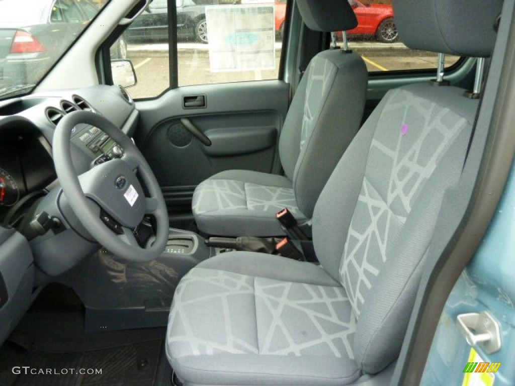 Dark Grey Interior 2012 Ford Transit Connect Xlt Premium Wagon Photo 56620013