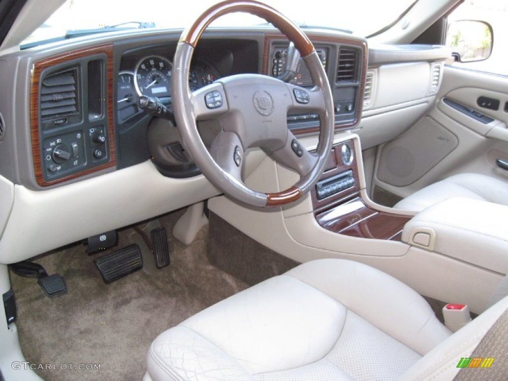 Shale Interior 2003 Cadillac Escalade Esv Awd Photo 56620091