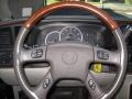 2003 Cadillac Escalade Shale Interior Steering Wheel Photo