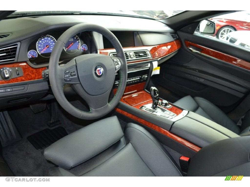 Black Interior 2012 BMW 7 Series Alpina B7 LWB Photo 56625048