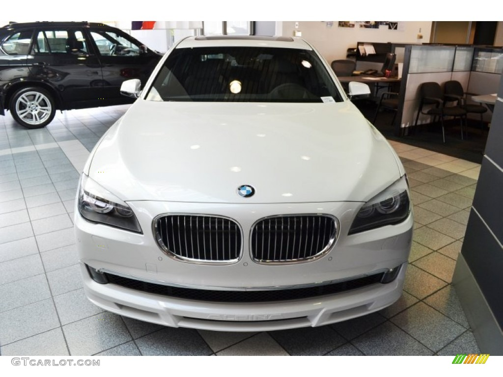 mineral white metallic 2012 bmw 7 series alpina b7 lwb exterior