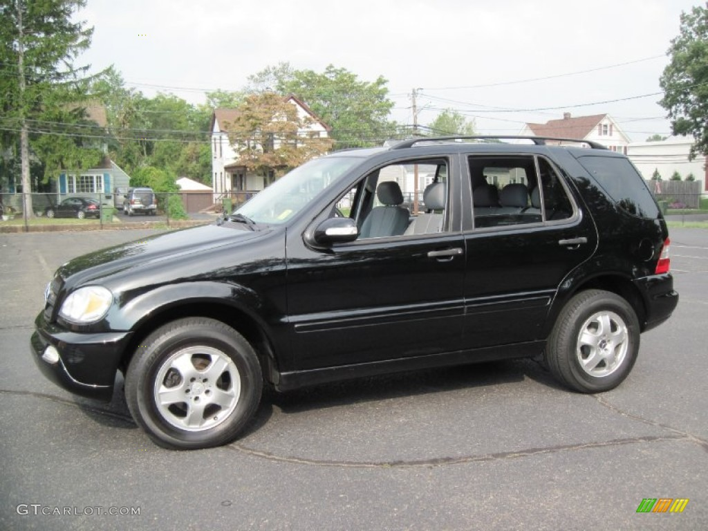 2003 black mercedes benz ml 320 4matic 56610307 for Mercedes benz 2003