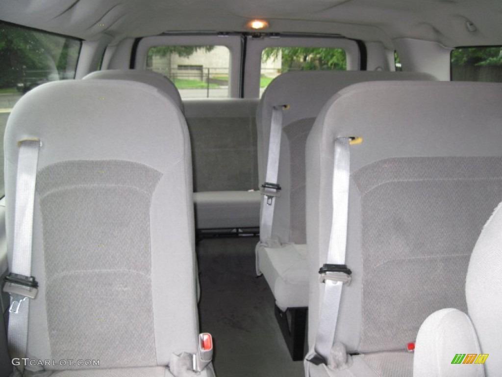 Medium Flint Grey Interior 2006 Ford E Series Van E350 Xlt 15 Passenger Photo 56637339