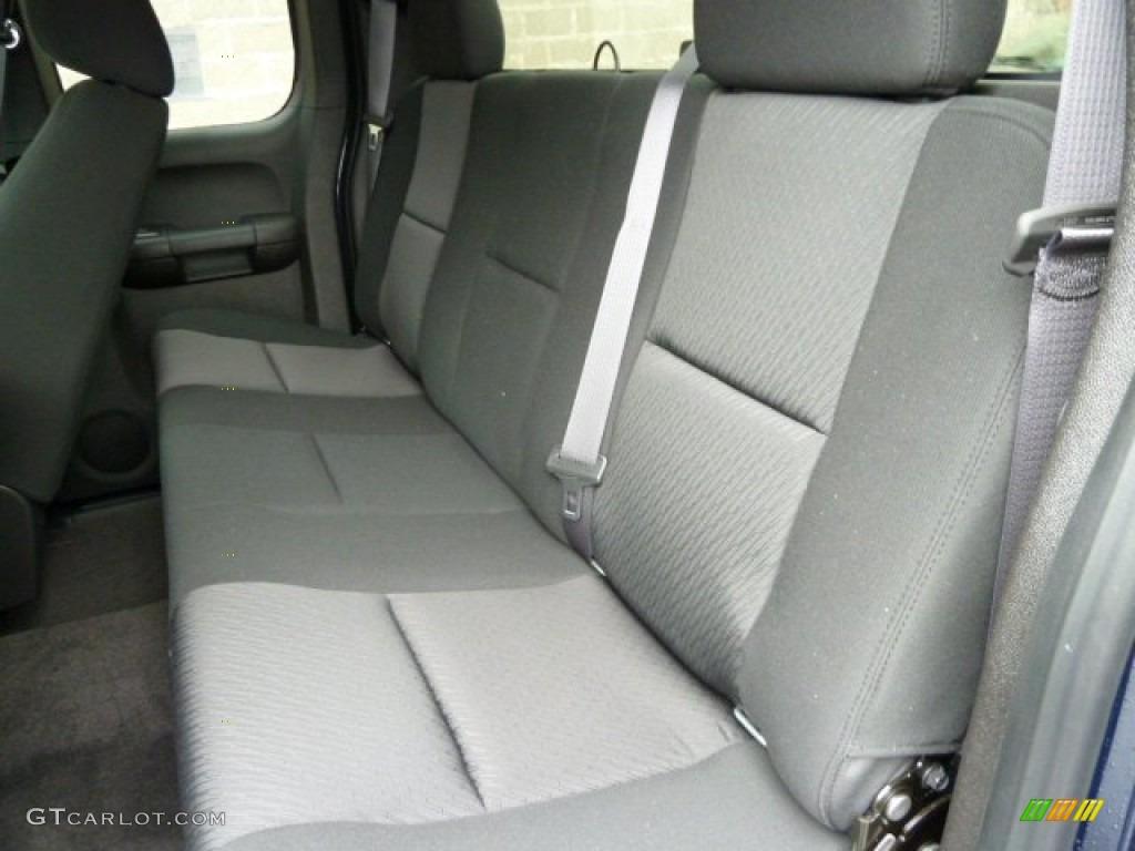 2011 Silverado 1500 LS Extended Cab 4x4 - Imperial Blue Metallic / Dark Titanium photo #11