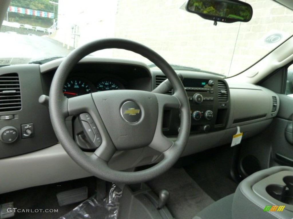 2011 Silverado 1500 LS Extended Cab 4x4 - Imperial Blue Metallic / Dark Titanium photo #12