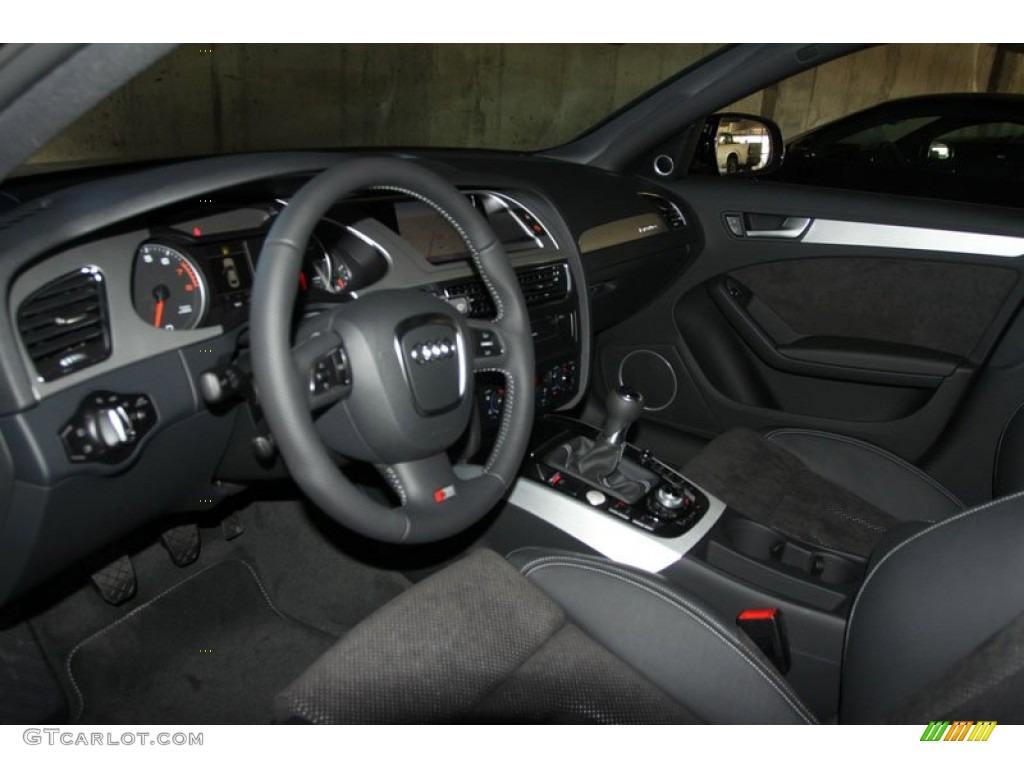 black interior 2012 audi a4 2 0t quattro sedan photo 56649798