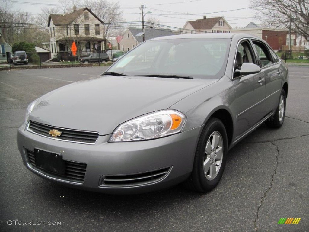Dark Silver Metallic 2007 Chevrolet Impala Lt Exterior Photo 56651781